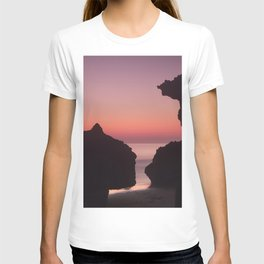 Roche Reefs At Sunset. T-shirt