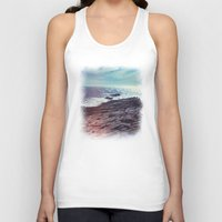 salt water Tank Tops featuring Salt Water by Viviana Gonzalez