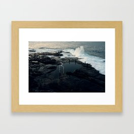 maroubra love Framed Art Print