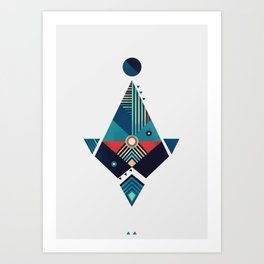 Arrow 02 Art Print