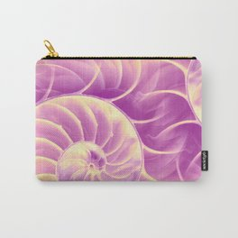 Nature's Poetry (Fibonacci) Carry-All Pouch