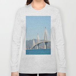 Rio Antirrio Bridge Long Sleeve T-shirt