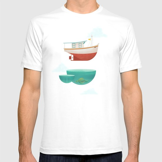 Floating Boat T-shirt