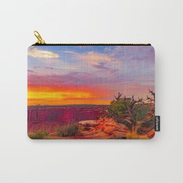 Canyonlands National Park Sunset View Print Carry-All Pouch