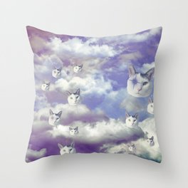 Sky Shemp Throw Pillow