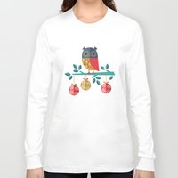 micklyn Long Sleeve T-shirts featuring WOOHOO IT'S CHRISTMAS! by Daisy Beatrice