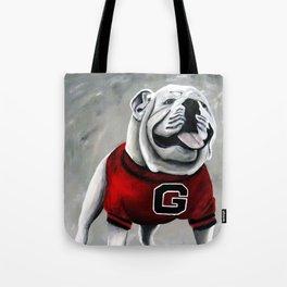 UGA Georgia Bulldogs Mascot Tote Bag