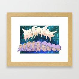 Little Movement Framed Art Print