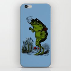 Good Time Toad iPhone Skin