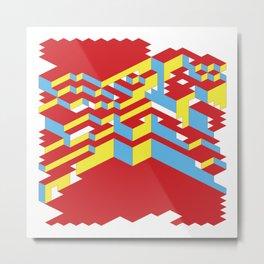 Primary Metal Print