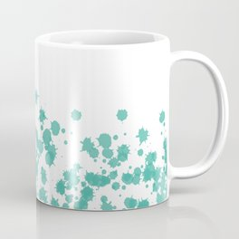 Taches de teal Coffee Mug