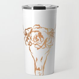 Copper Beast Head Travel Mug