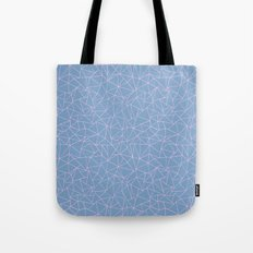 Ab Repeat Hot Pink B Tote Bag