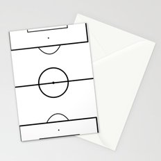 Soccer Field Stationery Cards