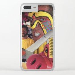War Paint Clear iPhone Case
