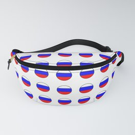 Flag of russia 4 -rus,ussr,Russian,Росси́я,Moscow,Saint Petersburg,Dostoyevsky,chess Fanny Pack