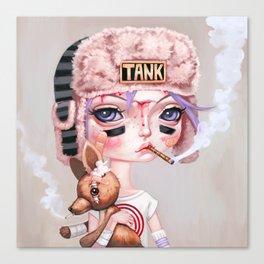 Tank Girl and Booga Canvas Print