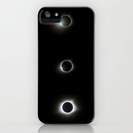 August 21, 2017 - Total Solar Eclipse Triptych iPhone Case