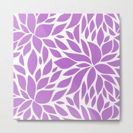 Bloom - Lilac Metal Print