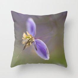 Purple Two Throw Pillow