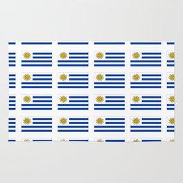 flag of Uruguay 2 -Uruguyan,montevideo,spanish,america,latine,Salto,south america,paysandu,costa,sun Rug
