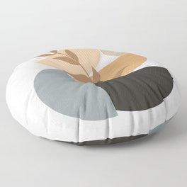 GEOMETRIC AND ORGANIC ELEMENTS II Floor Pillow