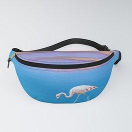 Flamingo Water Fanny Pack