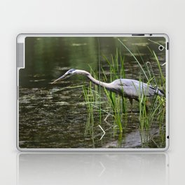Blue Herron Laptop & iPad Skin