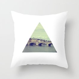 Triangle Basel Throw Pillow