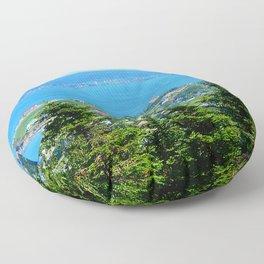 Bonaventure Island panoramic Floor Pillow