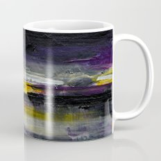 Purple Abstract Landscape Mug