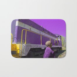 Purple, and other colors of existence Bath Mat
