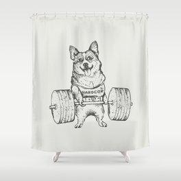 Corgi Lift Shower Curtain