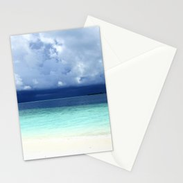 Maldives colors Stationery Cards