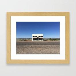 Storefront | Marfa Framed Art Print