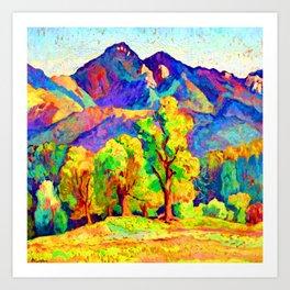 Ion Theodorescu Sion Piatra Craiului Art Print