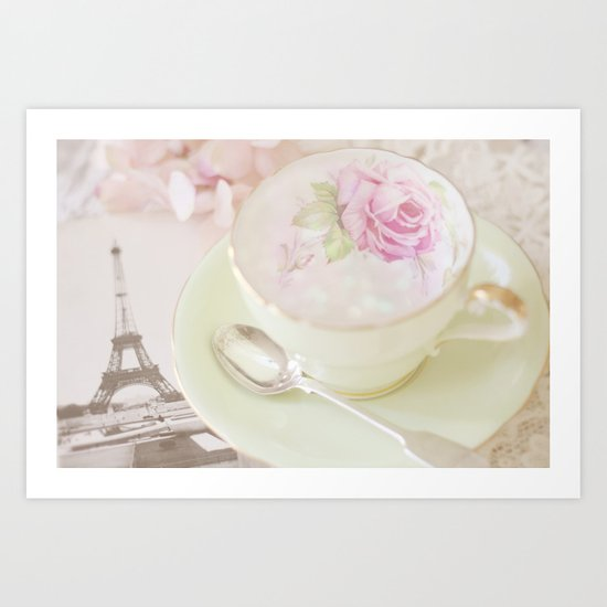 Paris Tea Art Print