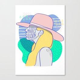 Joanne Canvas Print