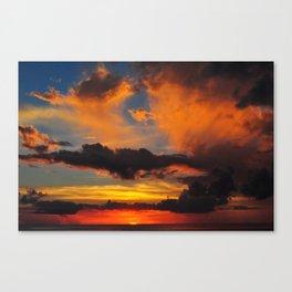 Okinawa Sunset Canvas Print