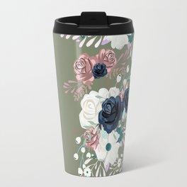 Plants watercolor Travel Mug