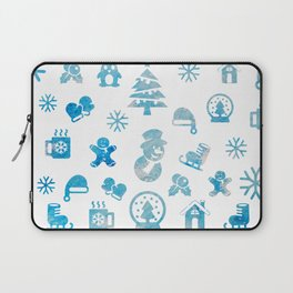 Winter Theme Laptop Sleeve