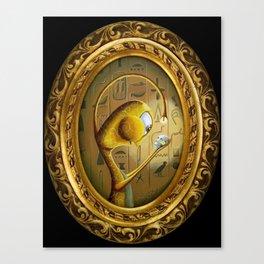 Saint Crimson Canvas Print