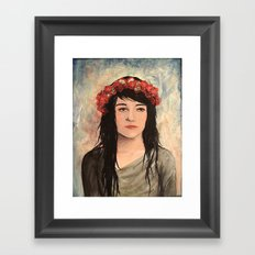 Tea Lady Framed Art Print