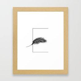 Palm E Framed Art Print