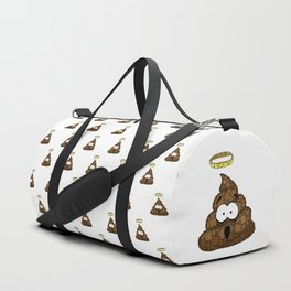 Holy Crap! - Bathroom Humor - Poop - 57 Montgomery Ave Duffle Bag