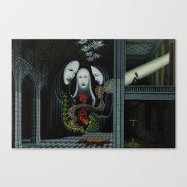 Living Through Secrets / Terms of Precedence Canvas Print