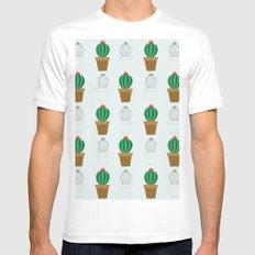 C13D Cactus MEDIUM Mens Fitted Tee White