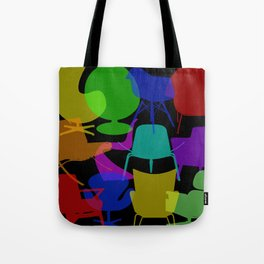 Interior Design Famous Chairs Tote Bag
