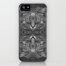 The big Kahuna - My big Ginger Cat iPhone Case