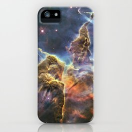 carina carina and her fuzzy psychedelia | space #12 iPhone Case